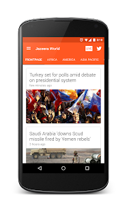 Jazeera World: Al Jazeera app- screenshot thumbnail