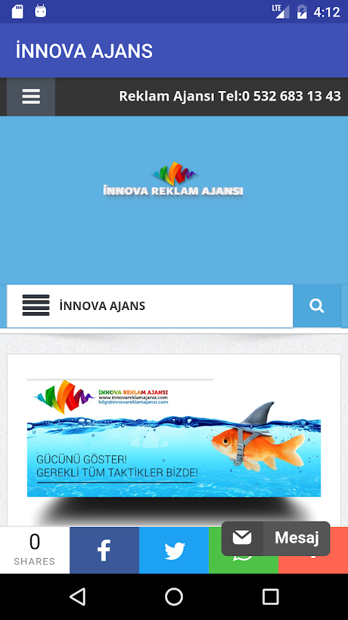 İnnova Digital Ajans- screenshot