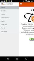 Screenshot of EHBT