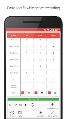 ScorePal - screenshot