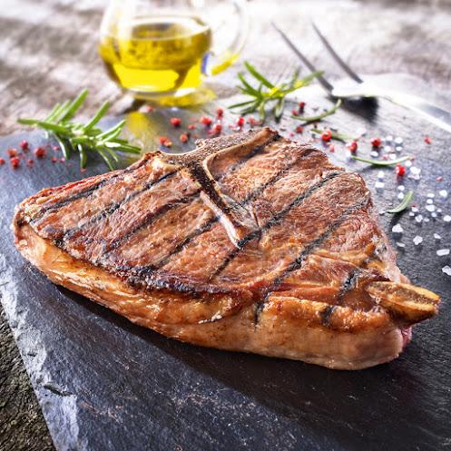 Abbildung Kalbs T-Bone Steak