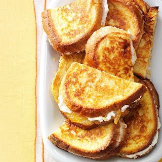 Marmalade French Toast Sandwiches.