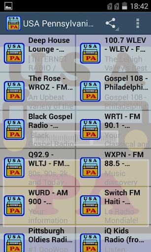 USA Pennsylvania Radio