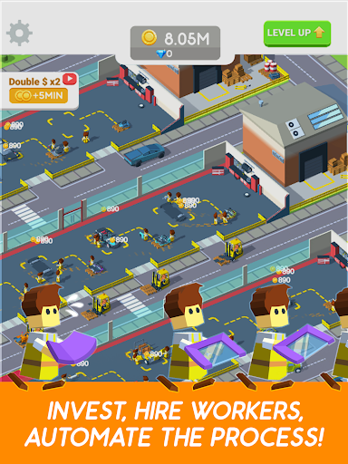 Idle Mechanics 3D Manager screenshot 8