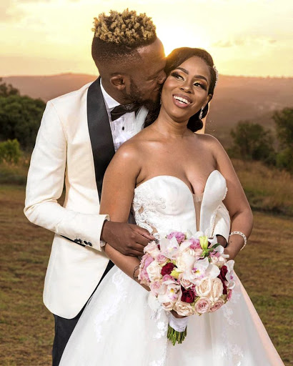 Stylish wedding for Kwesta