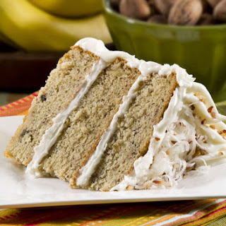 Layered Banana Cake