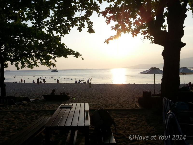 Anvaya Cove beach area