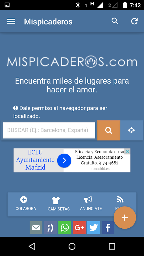 mispicaderos- screenshot