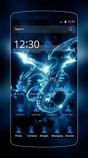 Zeus Dragon Theme for PC
