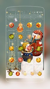 Christmas Snow Man screenshot 1