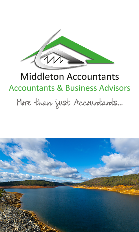Middleton Accountants- screenshot