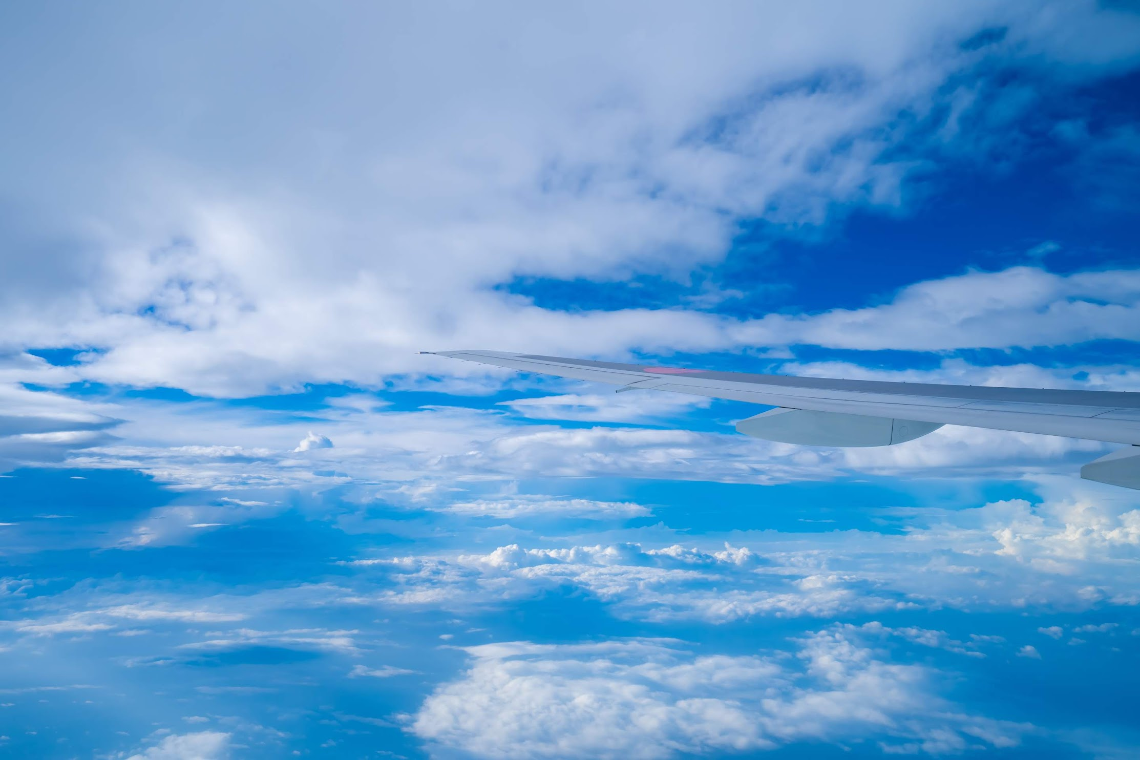 ANA 機窓写真