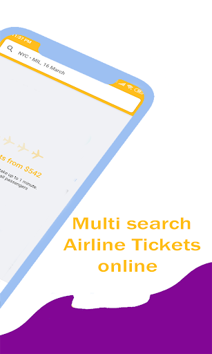 Airline Ticket Booking app screenshot 4