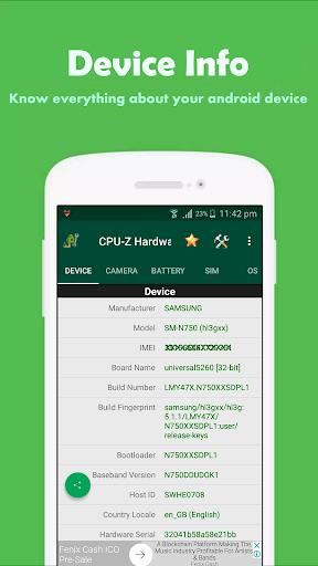 CPU-Z Hardware Info 1.0.7 1