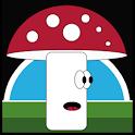 Mushroom runner icon