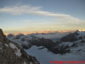 Photo: IMG_8907 sole ormai alto verso il Bernina