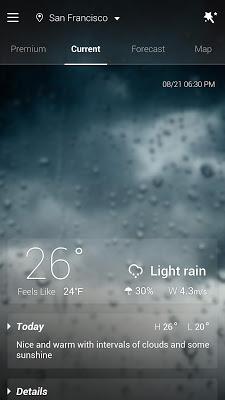 GO Weather - Widget, Theme, Wallpaper, Efficient - screenshot