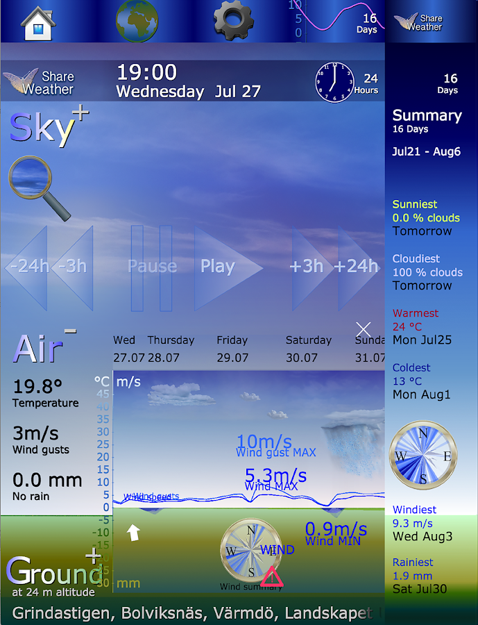 ShareWeather- screenshot