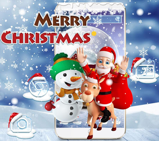 Christmas Theme Wallpaper 2017 Snow 1.1.3 screenshots 7