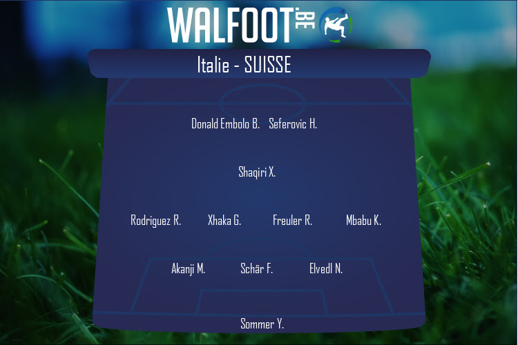 Suisse (Italie - Suisse)