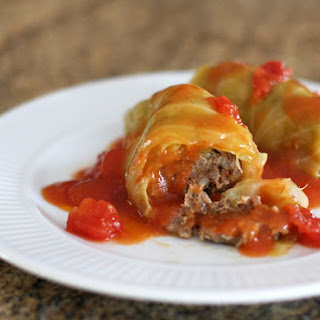 Baked Cabbage Rolls.