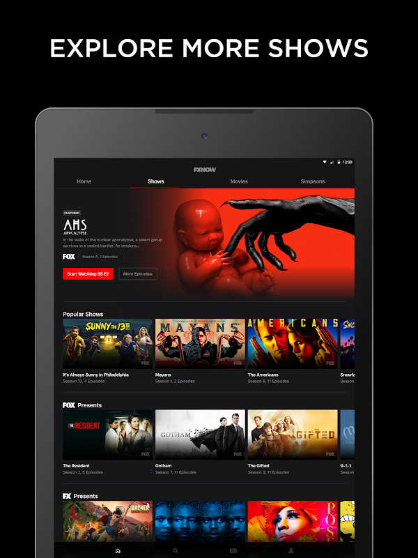 FXNOW: Movies, Shows & Live TV screenshots