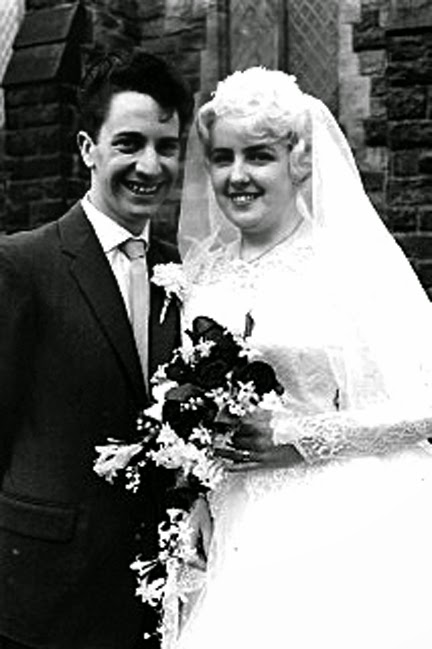 Photo: Ann & Peter Campbell 3rd April 1961