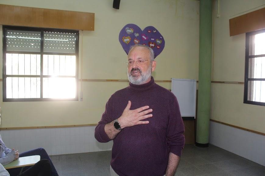 Benjamín Hernández Montanari, profesor del IES Aguadulce y responsable de actividades culturales.