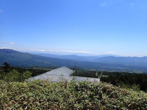 スキー場トップからの眺め