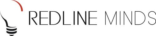 Redline Minds logo and link back to site