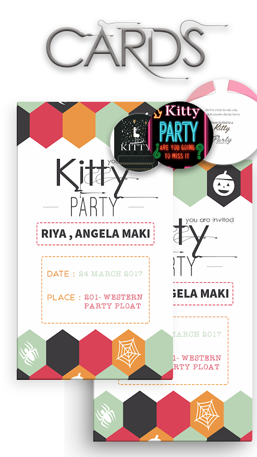 Kitty Party Invite Card Maker Android Apps on Google Play – Invite Card Maker