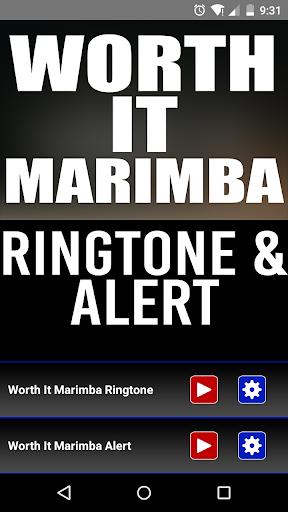Worth It Marimba Ringtone