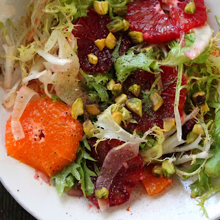 Blood Orange Salad with Fennel and FriséE Recipe