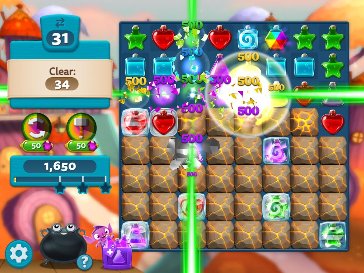 Pop fruit crush - Potion Pop Puzzle Match Screenshot