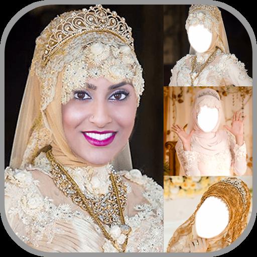 Bridal Hijab Photo Editor Icon