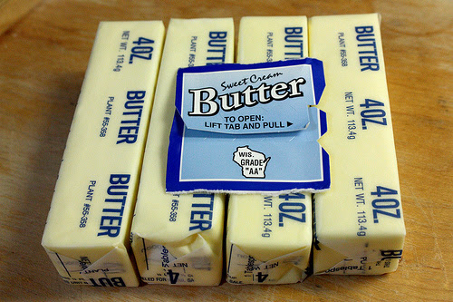 Cheese-heads go to court over 'unconstitutional' butter