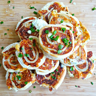 Cheese and Chive Pinwheels Recipe