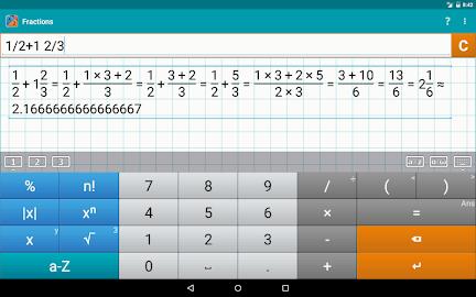 Fraction Calculator MathlabPRO Screenshot 9