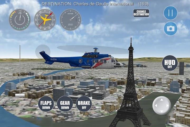 android Airplane Paris Screenshot 3