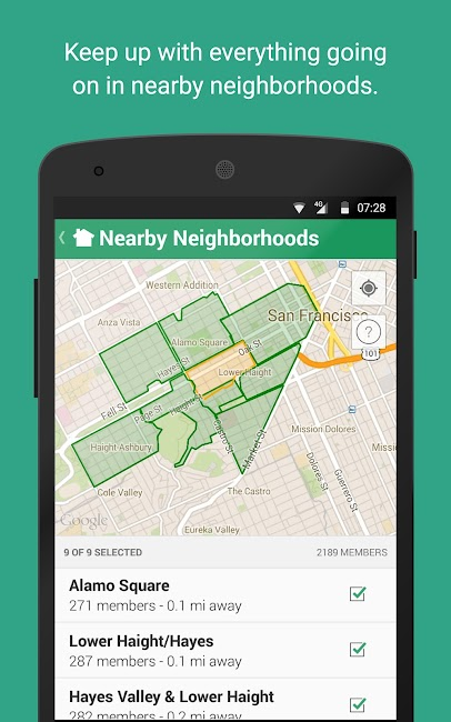 #5. Nextdoor (Android)