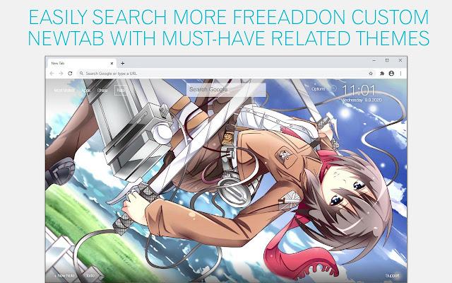 Attack on Titan Mikasa Wallpaper HD AoT Mikasa New Tab