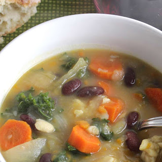 Vegetarian Kale Soup Recipes.