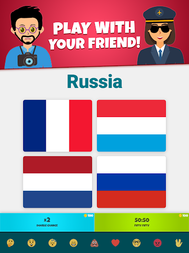 Flags of the World 2: Map - Geography Quiz screenshots 12