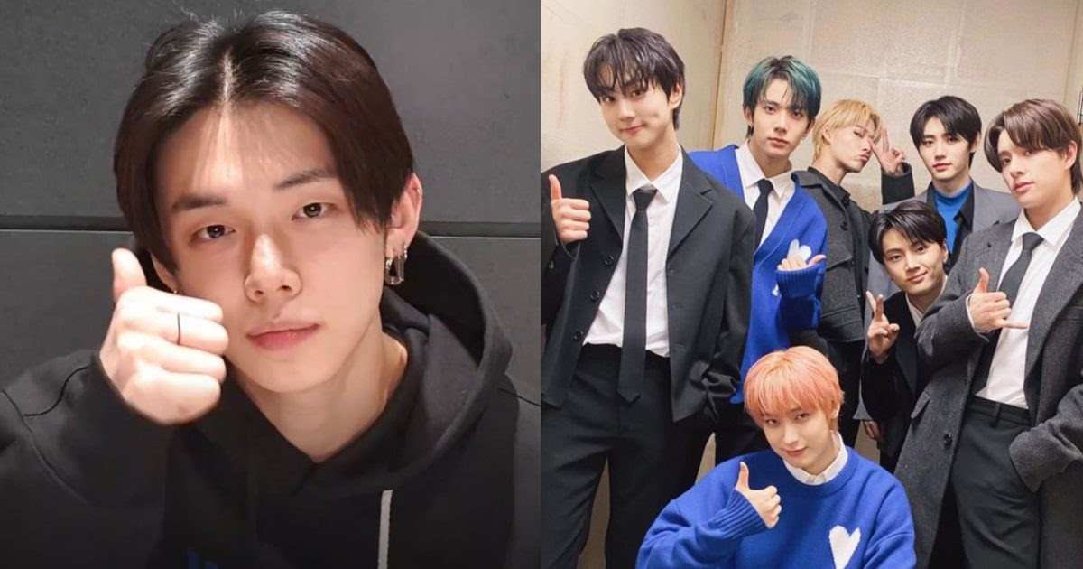 """TXT's Yeonjun Reveals Which Lyrics Are His Favorite From His Featured Rap In ENHYPEN's """"Blockbuster"""""""