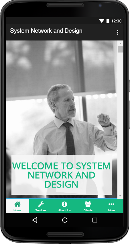 System Network and Design, LLC- screenshot