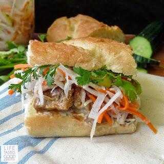 Vietnamese Pork Sandwich Recipe Banh Mi