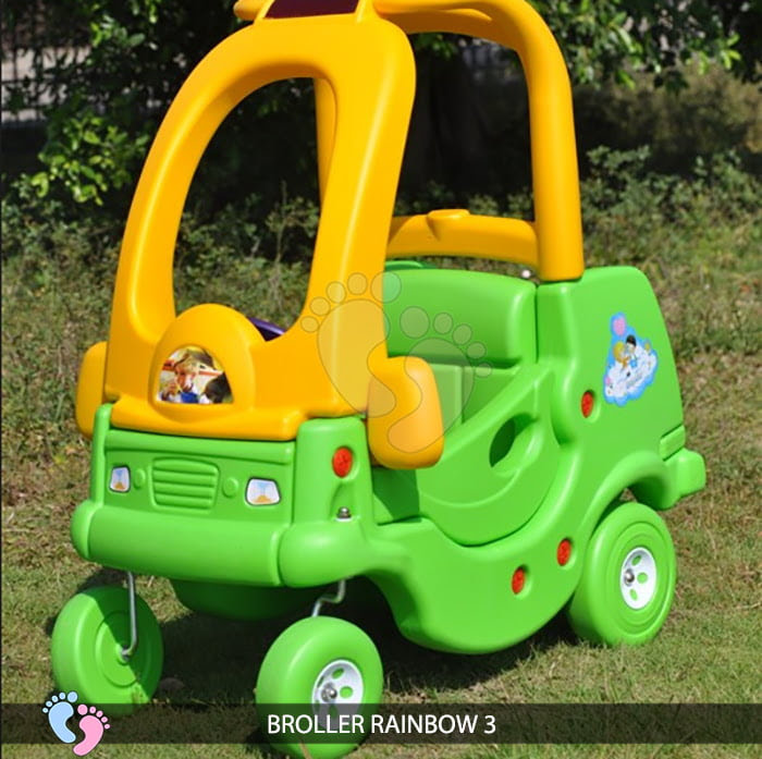 Xe chòi chân Broller Rainbow 3 cho bé 7