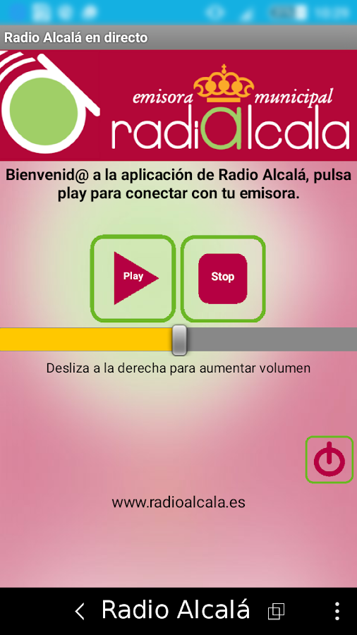 Radio Alcalá- screenshot