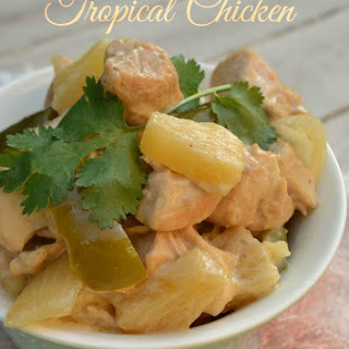 Slow-Cooker Tropical Chicken.