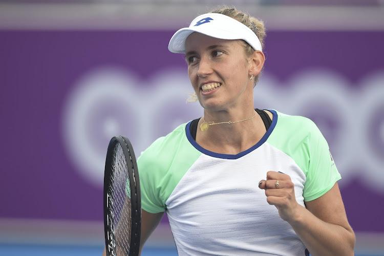 Elise Mertens kent moeilijke eerste set, maar stoot wel door naar de volgende ronde